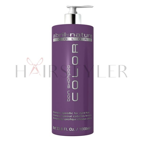 Abril et Nature Color Shampoo, szampon do włosów farbowanych, 1000 ml