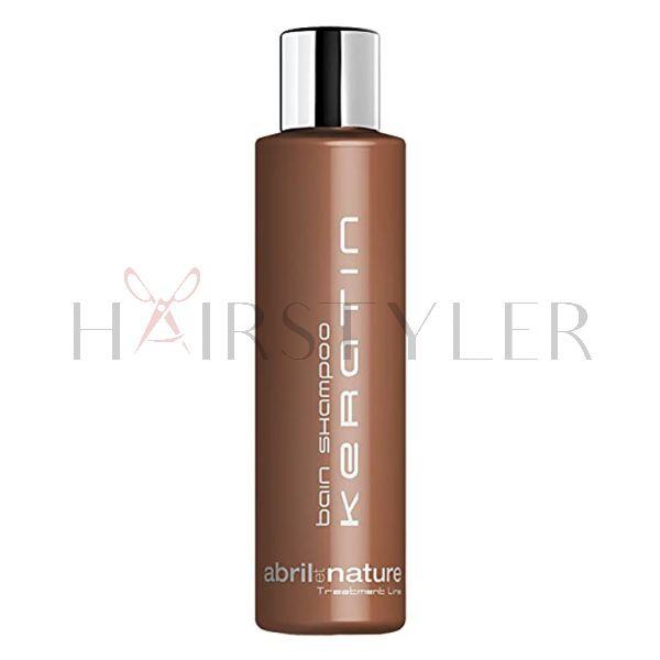 Abril et Nature Keratin Bain Shampoo, szampon keratynowy, 250 ml