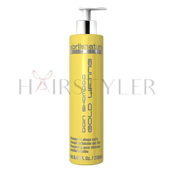 Abril et Nature Gold Lifting, definiujący szampon z komórkami macierzystymi, 250 ml