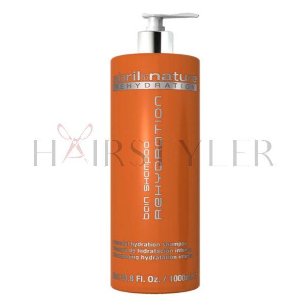 Abril et Nature Rehydration Shampoo, nawilżający szampon do włosów, 1000 ml