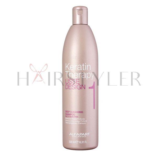 Alfaparf Lisse Design Deep Cleansing Shampoo, szampon oczyszczający, 500 ml
