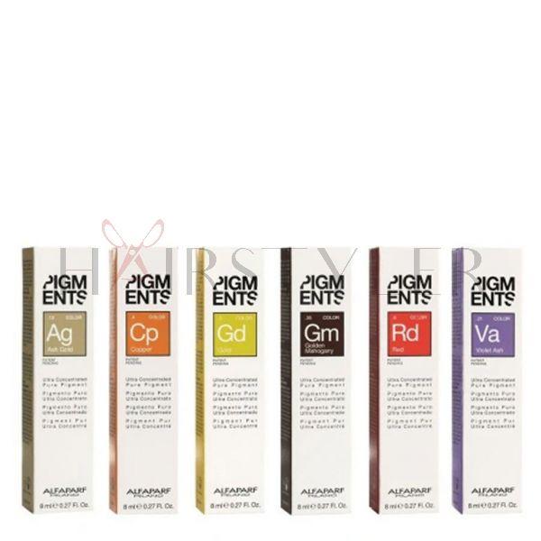 Alfaparf Pigments, skoncentrowany pigment do włosów, 8 ml