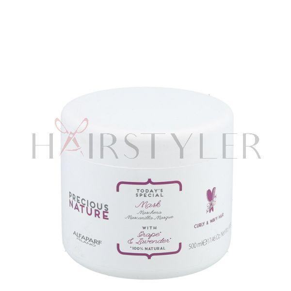 Alfaparf Precious Nature Curly&Wavy, maska do włosów kręconych, 500 ml