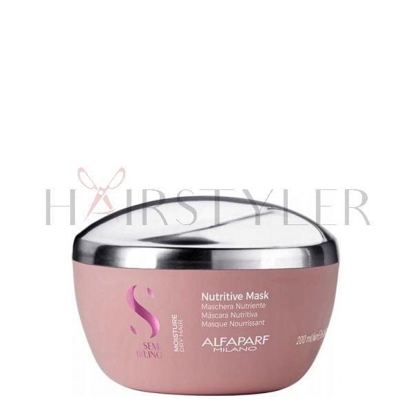 Alfaparf Semi Di Lino Nutritive, maska nawilżająca, 200 ml