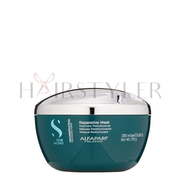 Alfaparf Semi Di Lino Reconstruction, maska regenerująca, 200 ml