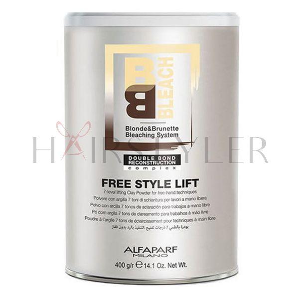 Alfaparf BB, puder rozjaśniający do 7 tonów, Free Style Lift, 400 g
