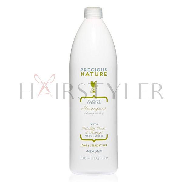 Alfaparf Precious Nature Long&Straight, szampon do włosów długich i prostych, 1000 ml