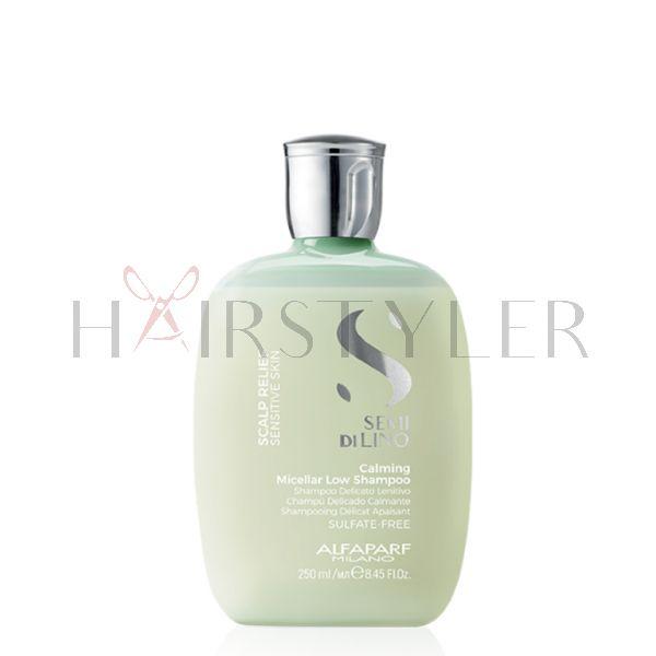 Alfaparf Semi Di Lino Calming Micellar Low Shampoo, szampon łagodzący, 250 ml