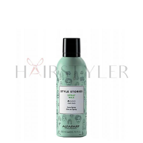 Alfaparf Style Stories Spray Wax, wosk w sprayu, 200 ml