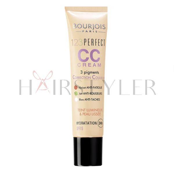 Bourjois 123 Perfect CC Cream, krem tonujący to twarzy, 30 ml
