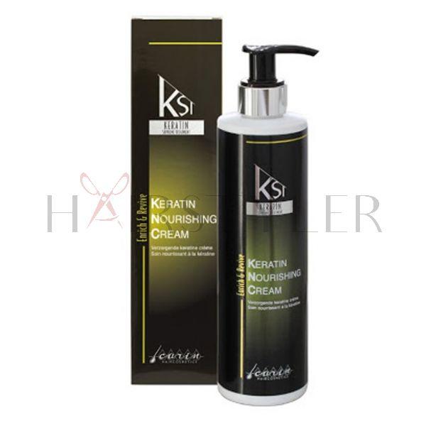 Carin Keratin Nourishing Cream, keratynowa odżywka do włosów, 300 ml