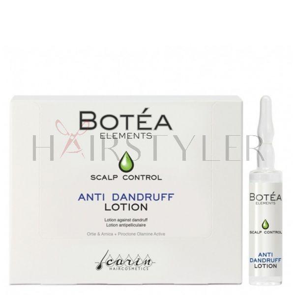 Carin Botea Anti Dandruff Lotion, przeciwłupieżowe serum do włosów, 12 x 10 ml