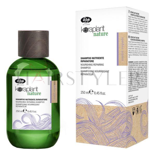 Lisap Keraplant Nutri Repair Shampoo, szampon odżywczo-regenerujący, 250 ml