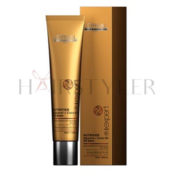 Loreal Expert Nutrifier, odżywczy balsam na końcówki do włosów suchych lub przesuszonych, 40 ml