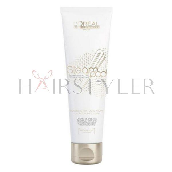 Loreal Steampod Cream Thick Hair, krem do włosów grubych, 150 ml