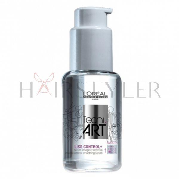 Loreal Tecni Art, Liss Control +, serum dyscyplinująco-wygładzające, 50 ml