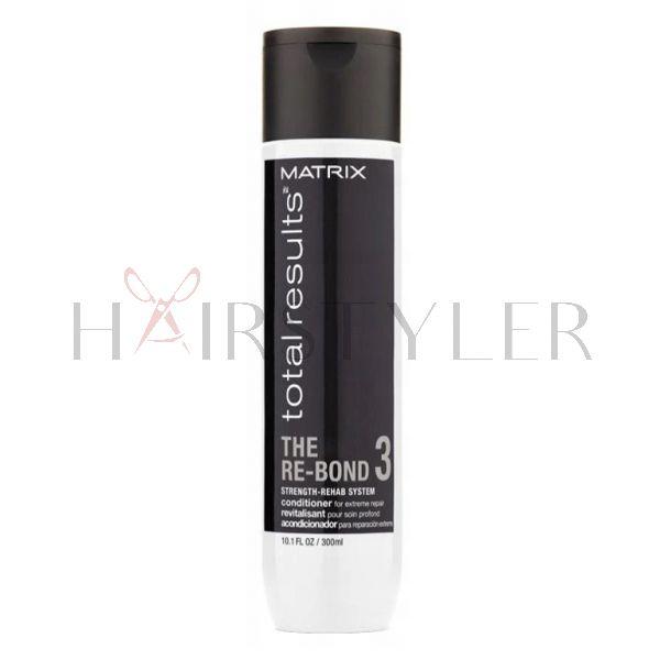 Matrix Total Results Re-Bond, regenerująca odżywka do włosów słabych i zniszczonych, 300 ml