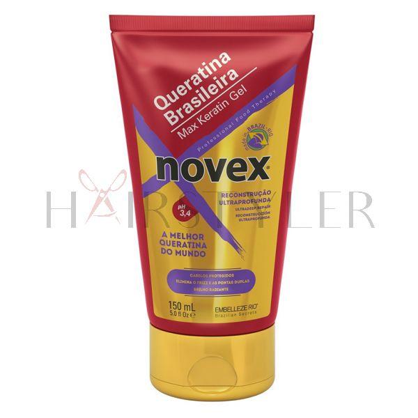 Novex Brazilian Keratin Max Keratin Gel, keratynowa odżywka ochronna w żelu, 150 ml