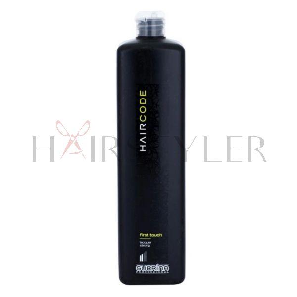 Subrina Professional Hair Code First Touch, lakier do włosów, 1000 ml