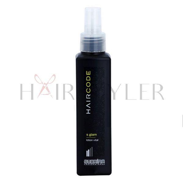 Subrina Professional Hair Code S Glam, lotion w spray'u do utrwalania włosów, 150 ml
