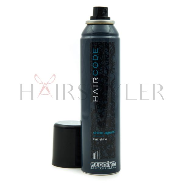 Subrina Professional Hair Code Shine Agent, nabłyszczacz do włosów w spray'u, 150 ml
