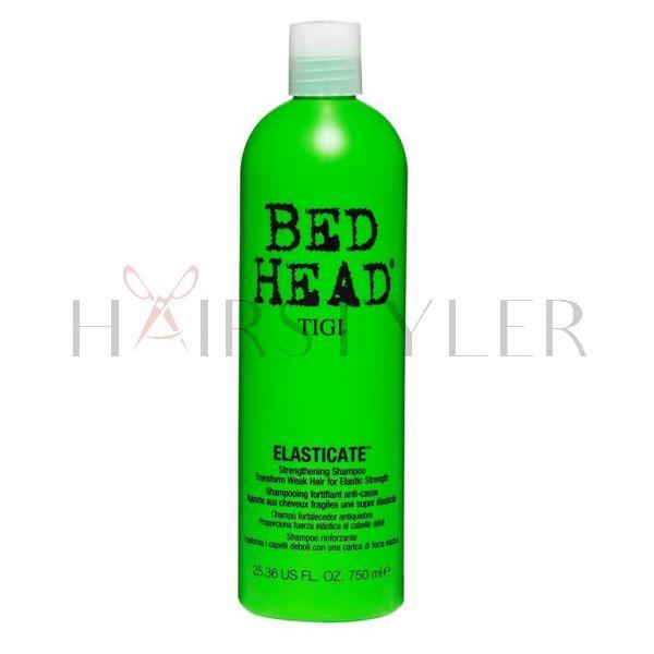 Tigi Bed Head Elasticate Shampoo, szampon do włosów osłabionych i łamliwych, 750ml