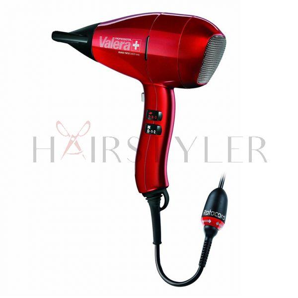 Valera Swiss Nano 9400 Ionic, profesjonala suszarka do włosów, 2400 W