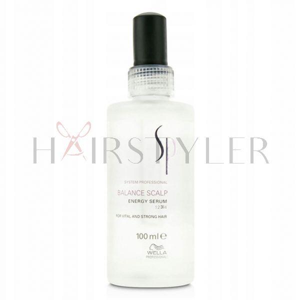 Wella SP Balance Scalp Energy Serum, serum przeciw wypadaniu włosów, 100 ml