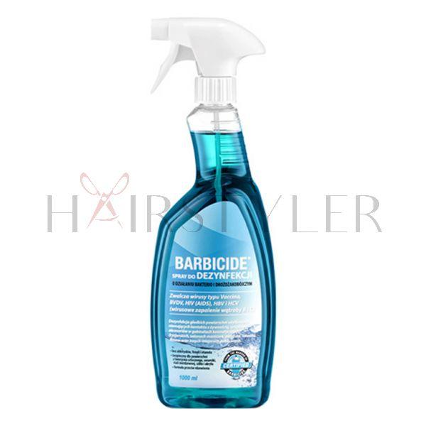 Barbicide, spray do dezynfekcji wszystkich powierzchni, (bezzapachowy) 1000 ml