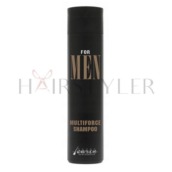 Carin For Men Multi Force Shampoo, odświeżający szampon do włosów, 250 ml
