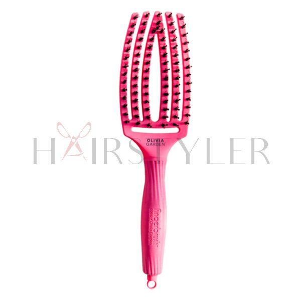 Olivia Garden Fingerbrush Blush, szczotka do modelowania, średnia