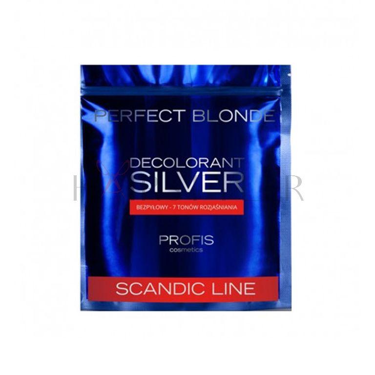Scandic Line Silver, rozjaśniacz do włosów, bezpyłowy, 500 g