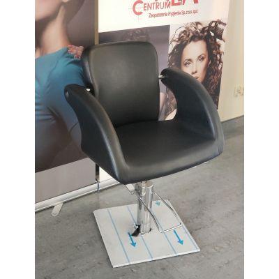 Omega II, fotel fryzjerski