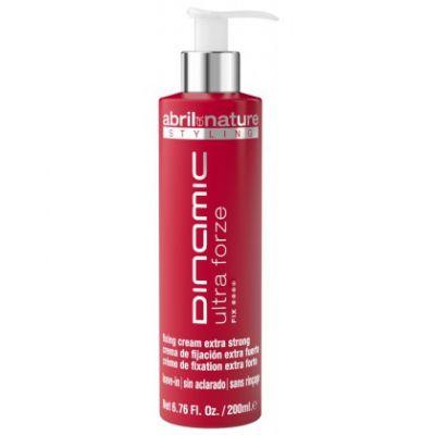 Abril et Nature Dinamic Cream Ultra Forze , bardzo mocny krem do modelowania włosów, 200 ml
