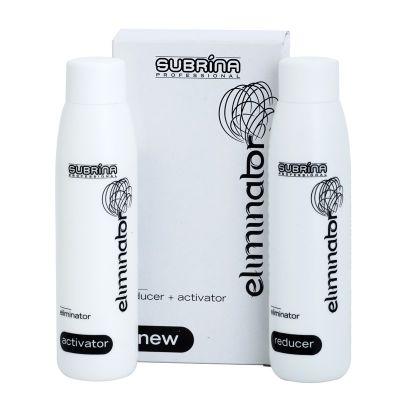 Subrina Professional Eliminator, dekoloryzator do usuwania koloru z włosów, 2 x 100 ml