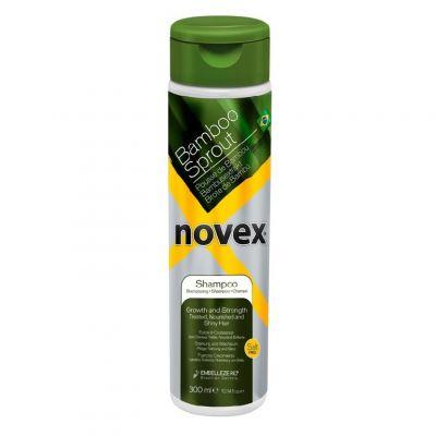 Novex Bamboo Sprout Shampoo, szampon do włosów suchych i łamliwych, 300ml