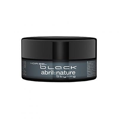 Abril et Nature Hair Gel Black, czarny żel do włosów, 150 ml