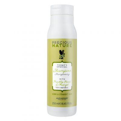 Alfaparf Precious Nature Straight&Long, szampon do włosów długich i prostych, 250 ml