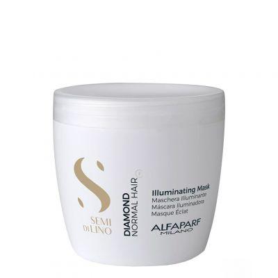 Alfaparf Semi Di Lino Diamond Illuminating, maska rozświetlająca, 500 ml