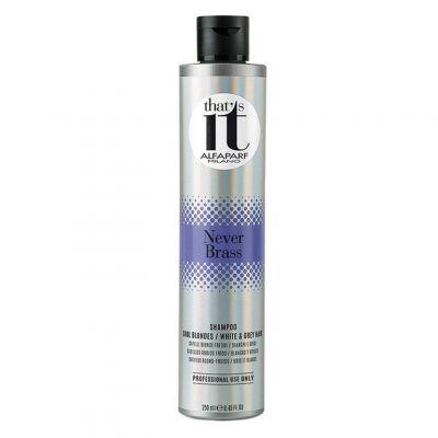 Alfaparf That's It, szampon do zimnych blondów i włosów siwych, 250 ml