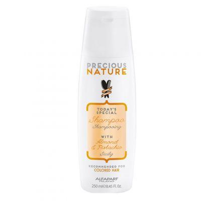Alfaparf Precious Nature, szampon do włosów farbowanych, 250 ml