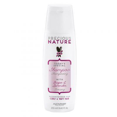 Alfaparf Precious Nature Curly&Wavy, szampon do włosów kręconych i falowanych, 250 ml