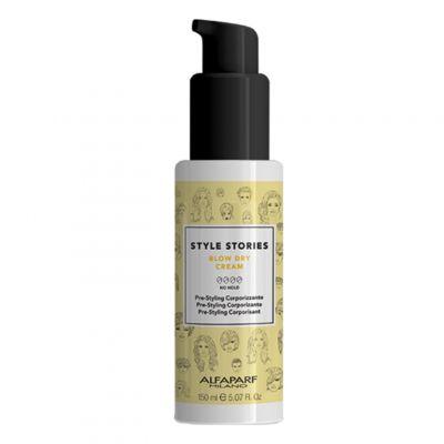 Alfaparf Style Stories Blow - Dry Cream - Krem do modelowania włosów, 150 ml