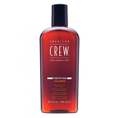 American Crew Fortifying Shampoo, szampon do włosów cienkich, delikatnych i tracących gęstość, 250 ml