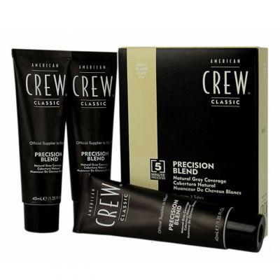 American Crew Precision Blend, odsiwiacz dla mężczyzn, 3x40 ml