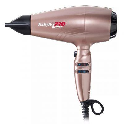 BaByliss PRO Rapido, suszarka do włosów 2200W, BAB7000IRGE