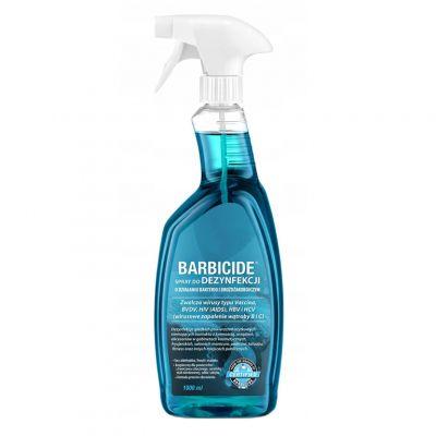 Barbicide, spray do dezynfekcji wszystkich powierzchni (bezzapachowy), 1000 ml