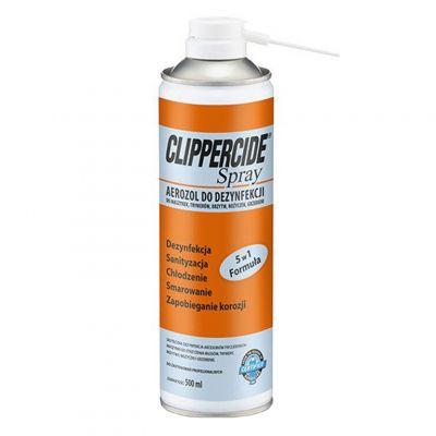 Barbicide Clippercide, spray do dezynfekcji i smarowania maszynek do włosów, 500 ml