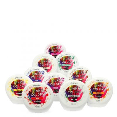 Carin Funky Colors, odżywka koloryzująca, różne kolory, 125 ml