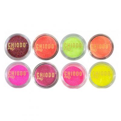 Chiodo Pro Brillant, pyłek nadający paznokciom efektowny blask, dostępny w kilku wariantach kolorystycznych